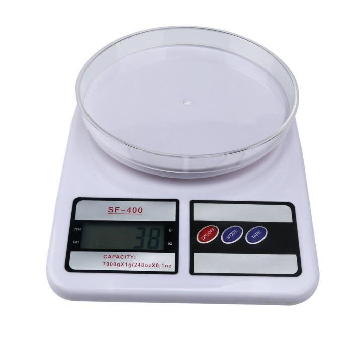 Balance multifonction numérique pour cuisine et aliments 10KG