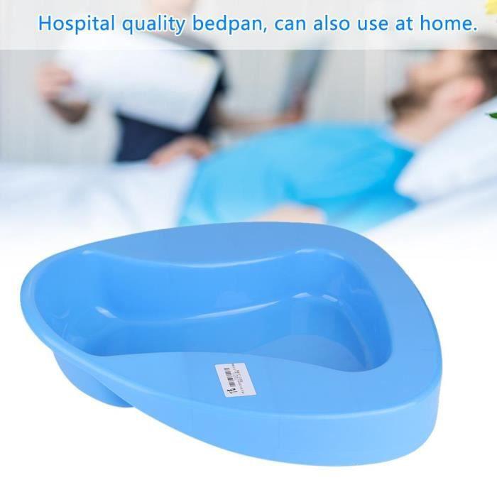 Bassin lit stable en plastique épais robuste lisse patient collé au lit