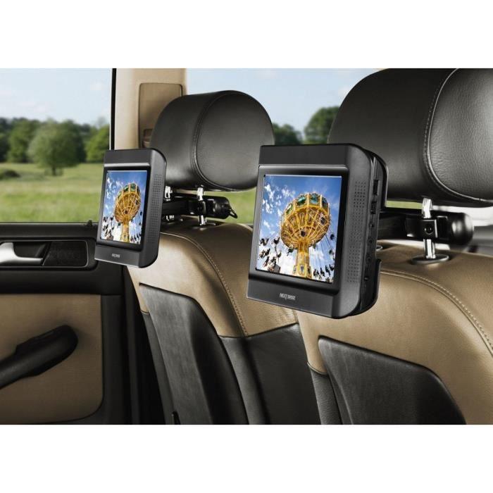 Next Base Next 9 Lite Duo Lecteur DVD Portable Double écrans 9- avec 1 lecteur DVD intégré + Kit voiture