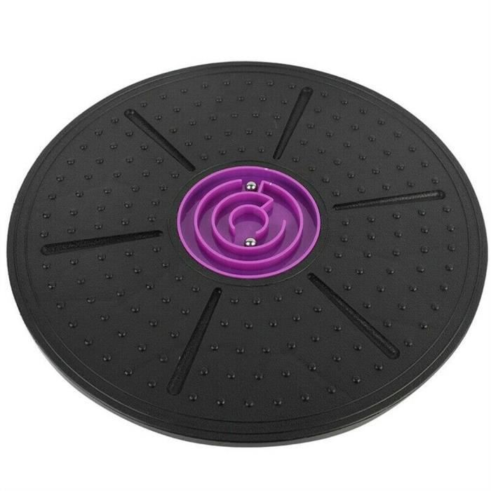 Wobble Balance Board Stabilité Disque Yoga Formation Muscle Fitness Exercice BA426