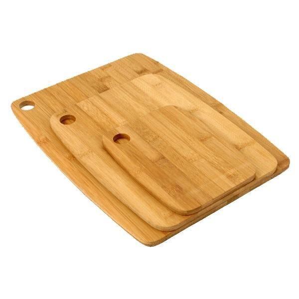 Planche a decouper Planches a decouper en bambou - Lot de 3