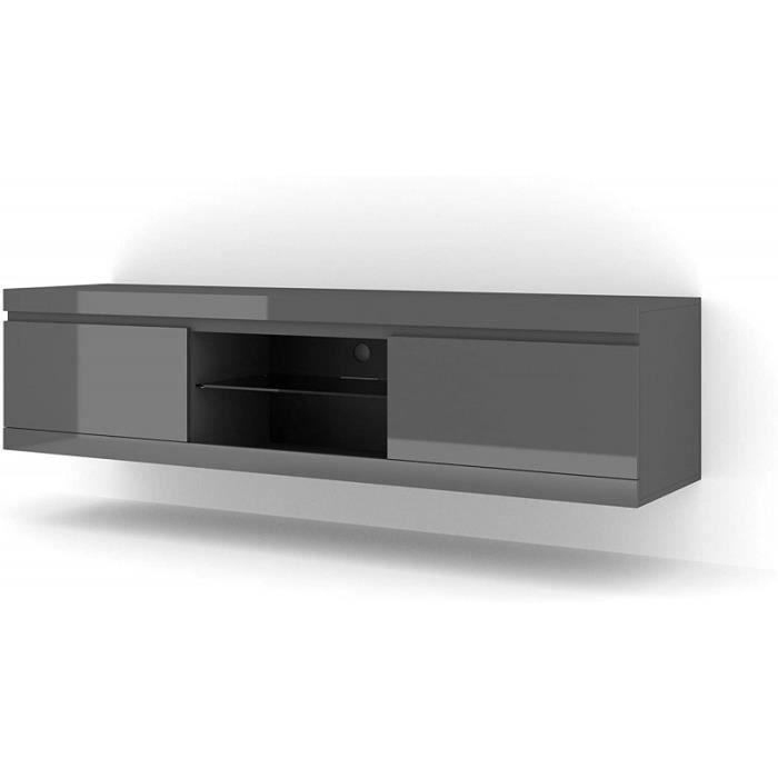 Meuble TV stand universel NET 180cm gris