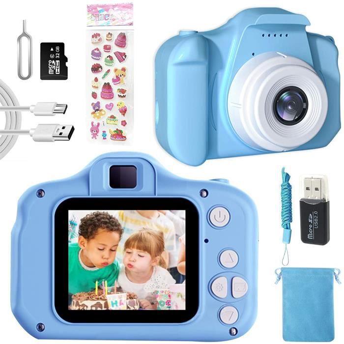 Appareil Photo Enfant-Mini Numeacuterique Cameacutera pour Enfant,Cadeaux Jouets Appareils Photo Enfants pour Garccedilons et Fil