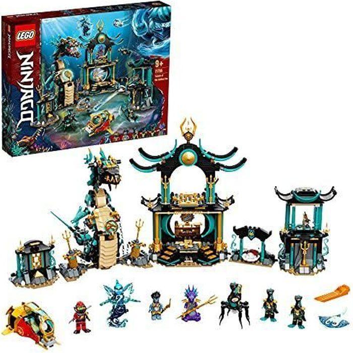 LEGO - LEGO 71755 Ninjago Le Temple de la Mer sans Fin avec Ninja Kai – Jouet Enfant 9 Ans et Plus