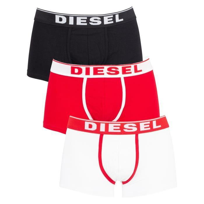 Diesel Homme Paquet de 3 malles fraîches et lumineuses, Multicolore