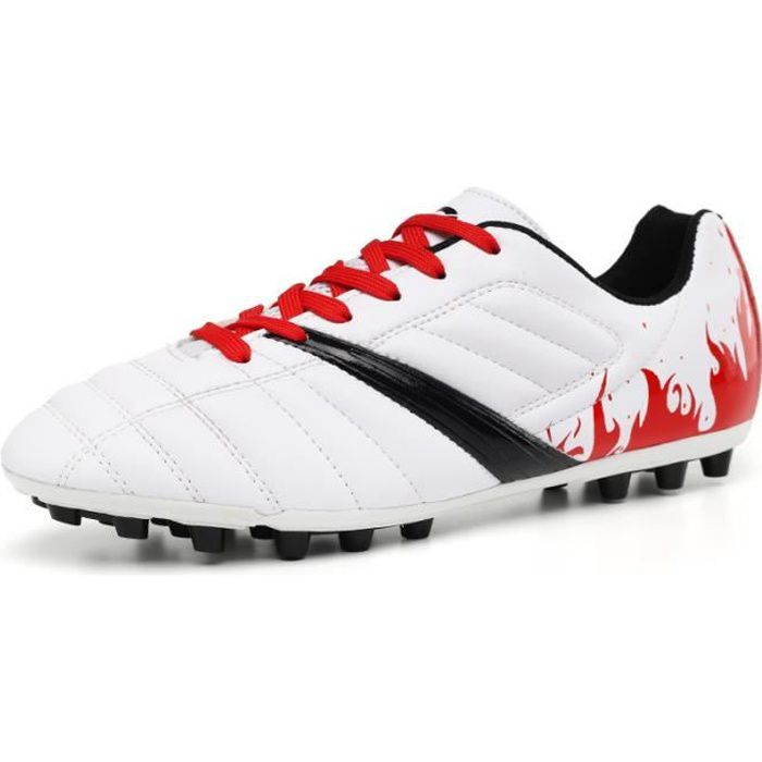 Chaussures et crampons de football adultes et enfants Chaussures de Football Homme Chaussures de Sport Adolescents AG
