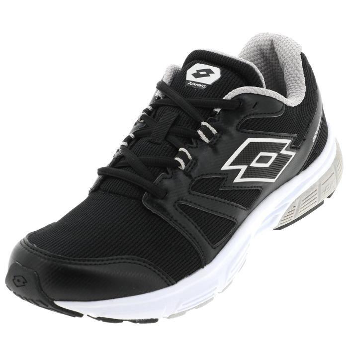 Chaussures running Speedride 500 noir blc - Lotto