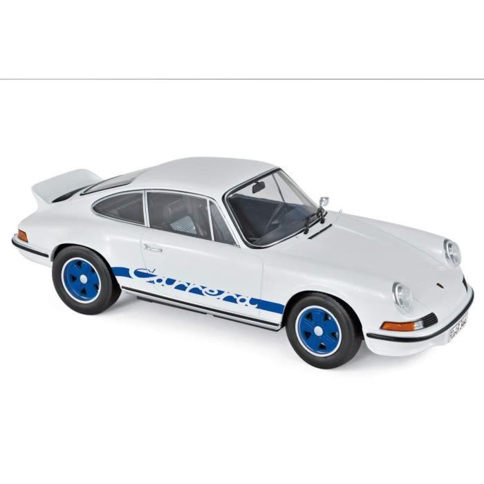 Porsche 911 RS 1973 - Blanche et Bleue - Serie Limitée à 200 exemplaires