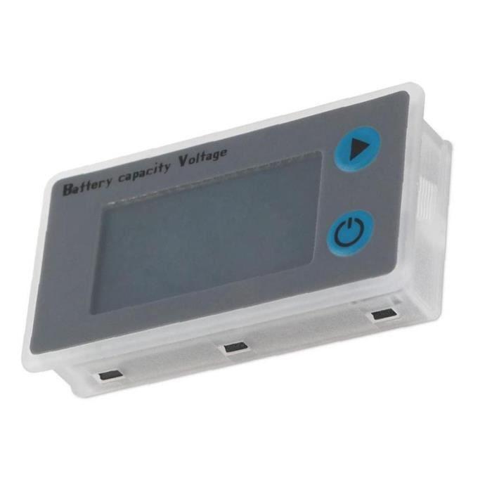 Testeur de batterie Vérification tension Digital Mètre JS-C33 24V pour les piles NiMH au plomb-acide lithium