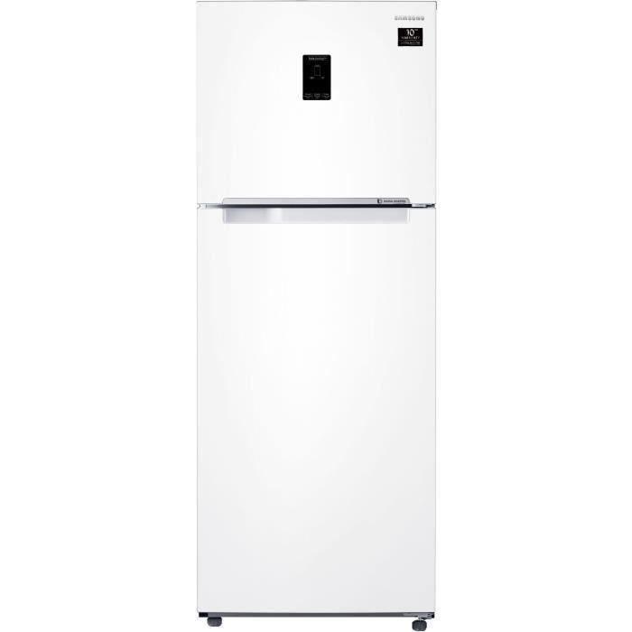 Samsung RT38K5500WW - Réfrigérateur double portes - 384L (295+89) - Froid ventilé intégral - 67.5x178.5cm -Blanc