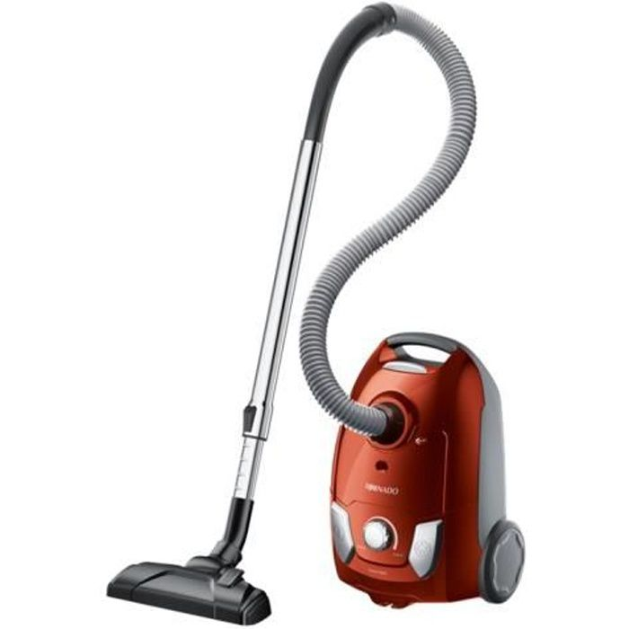 Tornado TOEG41OR Easy Go Aspirateur traineau sac orange mandarin