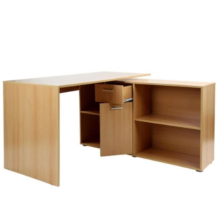 bureau d 39 angle informatique 0501010 achat vente bureau. Black Bedroom Furniture Sets. Home Design Ideas