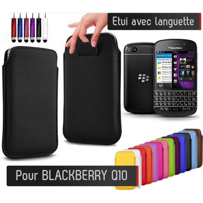 Pull up blackberry q10 lilas etui housse protection for Housse blackberry q10
