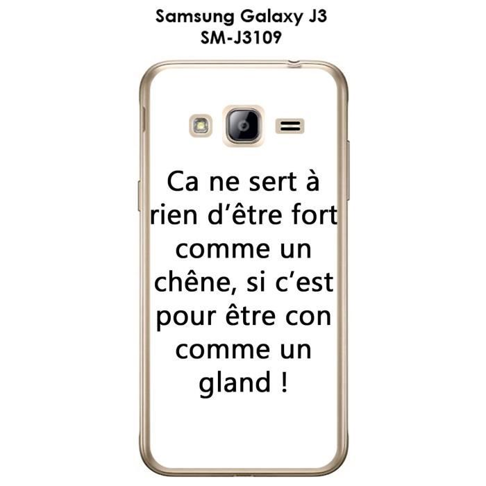 coque samsung j3 2016 citation