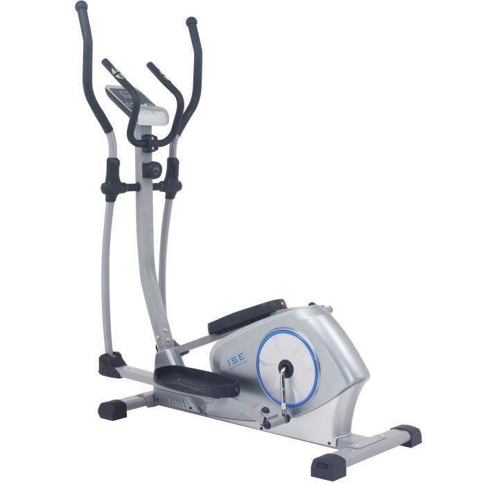 VÉLO ELLIPTIQUE ISE Vélo elliptique magnétique crosstrainer - écra