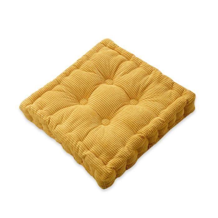 12x Coussins de chaise Lavable colorée Coussins de siège et coussins de chaise 40x40 Tirage Gris