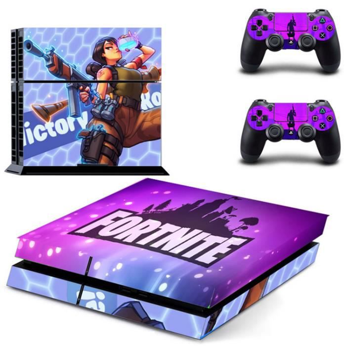 STICKER - SKIN CONSOLE PS4 Vinyl Skin Decal Autocollant Sticker pour Play