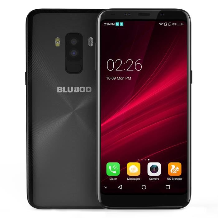"Téléphone portable Bluboo S8 5.7"" Smartphone Android 7.0 MT6750T Octa"