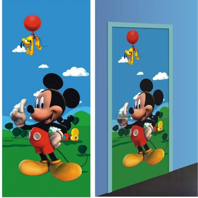 Mickey d coration murale poster g ant pap achat for Decoration maison mickey