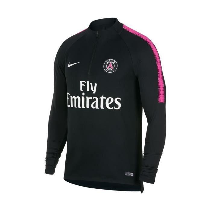 official supplier classic style latest NIKE Maillot d'entrainement PSG - Noir - Homme - Prix pas ...