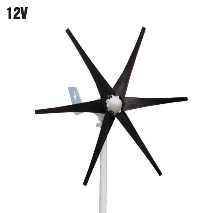 800W 12//24V 5Lames Éolienne Vent Générateur Turbine Aérogénérateur Contrôleur