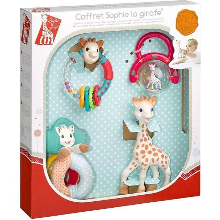 Vulli Doudou /à Mordiller Fresh Touch Sophie la Girafe