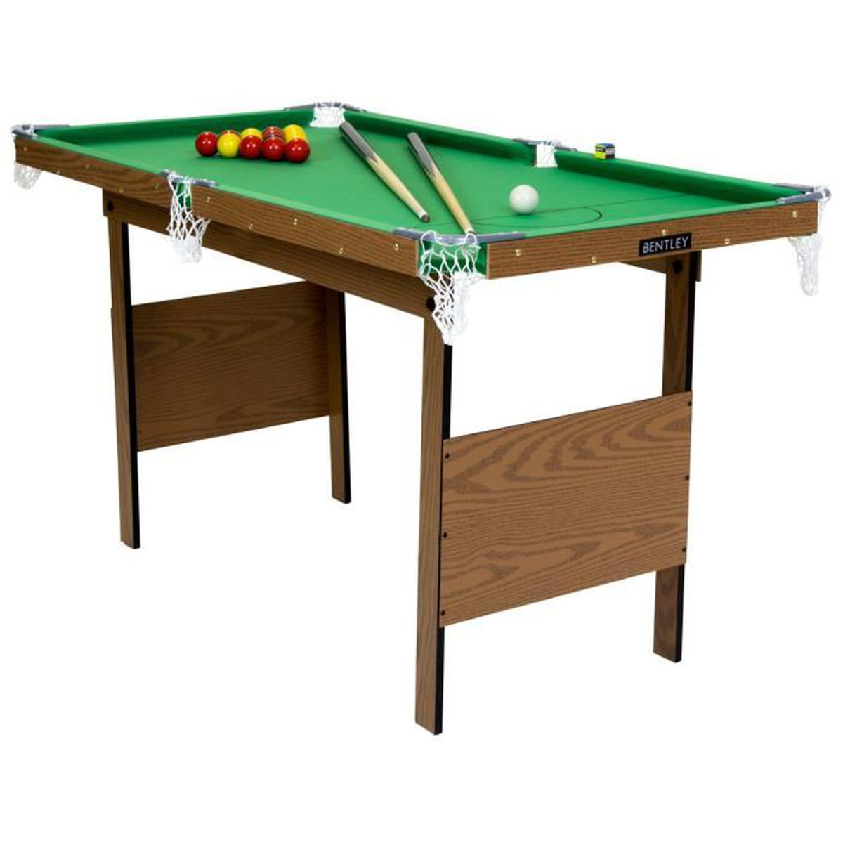 table de snooker billard avec billes vert 122 cm achat vente billard cdiscount. Black Bedroom Furniture Sets. Home Design Ideas
