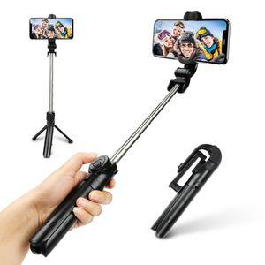 PERCHE - CANNE SELFIE AFAITH Extensible Trépied Perche Selfie Stick avec
