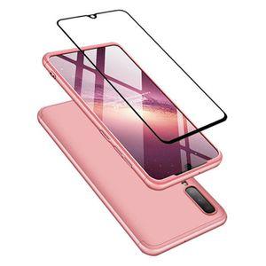 HOUSSE - ÉTUI Aclay coque Samsung Galaxy A70 Étui+Film de verre
