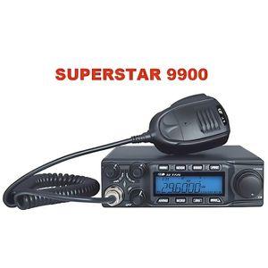 RADIO CB POSTE CB CRT SUPERSTAR SS 9900 AM/FM/USB/LSB + ANT