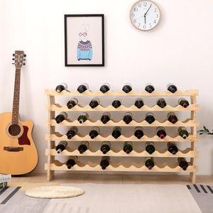 MEUBLE RANGE BOUTEILLE Cave à vin modulable, Étagère à bouteille, Casier