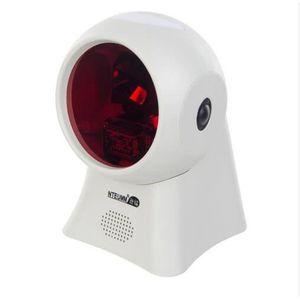 SCANNER blanc NETUM Laser À Plat Barcode Scanner 20 Lignes