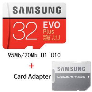CARTE MÉMOIRE Carte Mémoire Micro SD 32 GB SAMSUNG - M1285