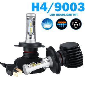 PHARES - OPTIQUES 2Pcs H4 LED Ampoules Lumineux Phares de voiture No