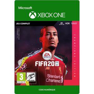 JEU XBOX ONE À TÉLÉCHARGER FIFA 20 Champions Edition Jeu Xbox One à Télécharg