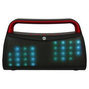 ENCEINTE NOMADE Enceinte Bluetooth Portative Sans Fil Lumineux LED