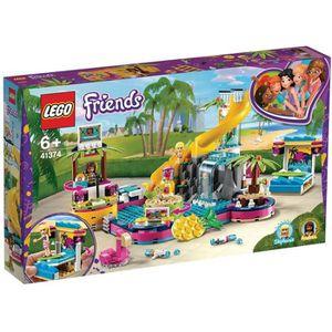 ASSEMBLAGE CONSTRUCTION LEGO® Friends 41374 La soirée piscine d'Andréa