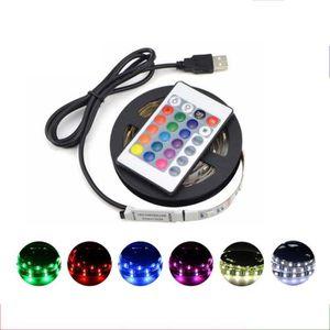BANDE - RUBAN LED Multicouleur Bande LED décoratif 3M avec controleu