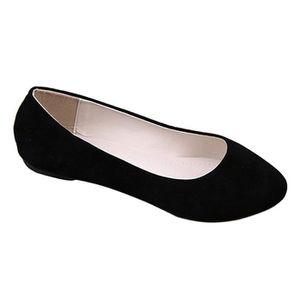 Minetom Femme Chaussures Plates avec Trou Creux Casual Plat Chaussures Tout-Match