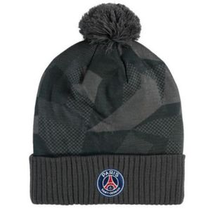 BONNET - CAGOULE Bonnet Noir A Pompon Nike PSG Paris Saint-Germain