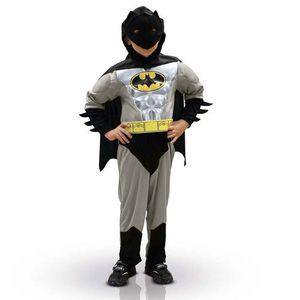 DÉGUISEMENT - PANOPLIE Déguisement Batman silver garçon Taille L