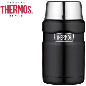 LUNCH BOX - BENTO  THERMOS – Porte-Aliments XL KING noir mat – 710 ML