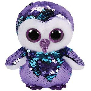 PELUCHE Ty - TY36439 - Flippables - Peluche à sequins Moon