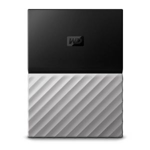 DISQUE DUR EXTERNE WESTERN DIGITAL My Passport Ultra - 2To - Gris