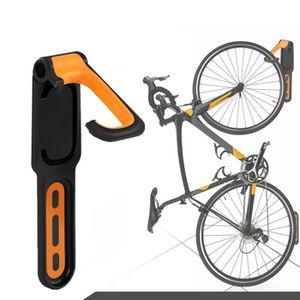 4x Vélo Support Mural Crochet de rangement acier monté Hanger Hanging stand support vélo