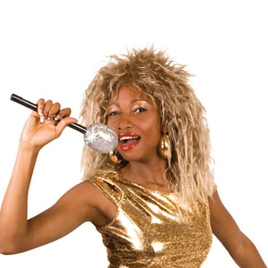Perruque Tina Turner -