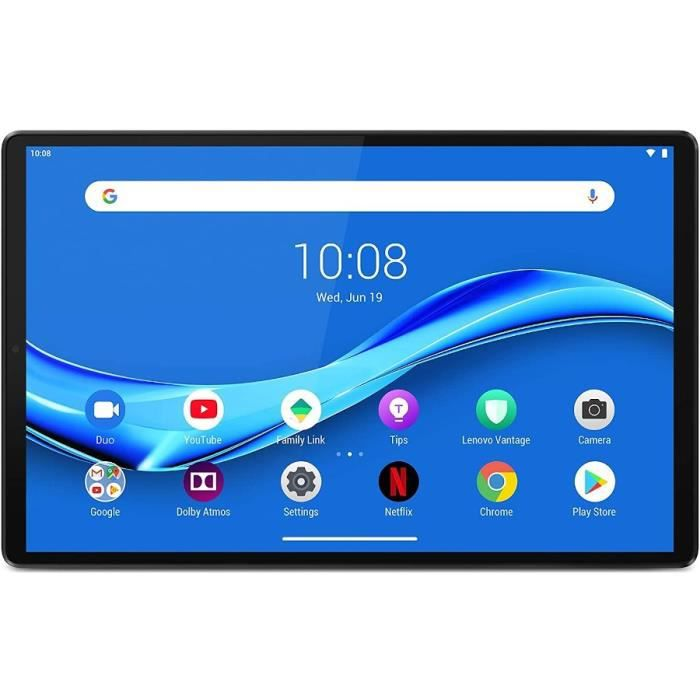 Tablette Tactile - LENOVO M10 FHD PLUS Gen 2 - 10,3- FHD - RAM 4Go - Stockage 128Go - Android 9 - Iron