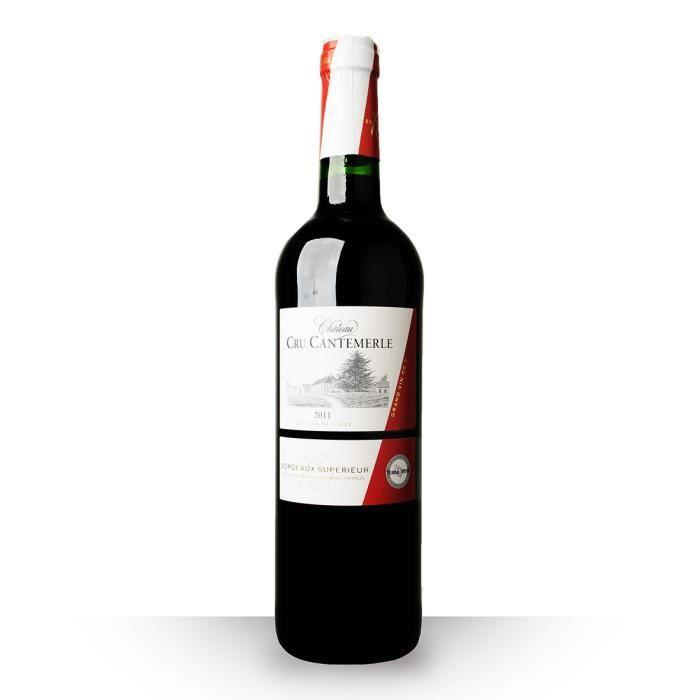 Château Cru Cantemerle Grande Réserve 2011 Rouge 75cl AOC Bordeaux Supérieur - Vin Rouge