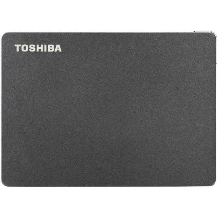 TOSHIBA - Disque dur externe Gaming - Canvio Gaming - 4To - PS4 Xbox - 2,5- (HDTX140EK3CA)