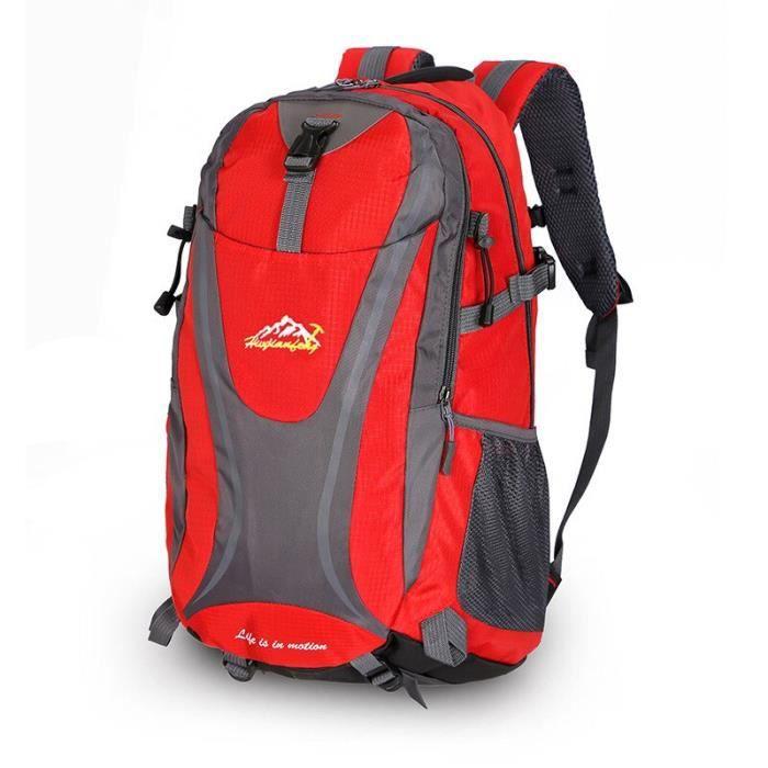 Rouge couleur 30 - 40L -Sac à dos imperméable en Nylon pour randonnée, escalade, 30l, pour Sports de plein air, voyage, Camping en m